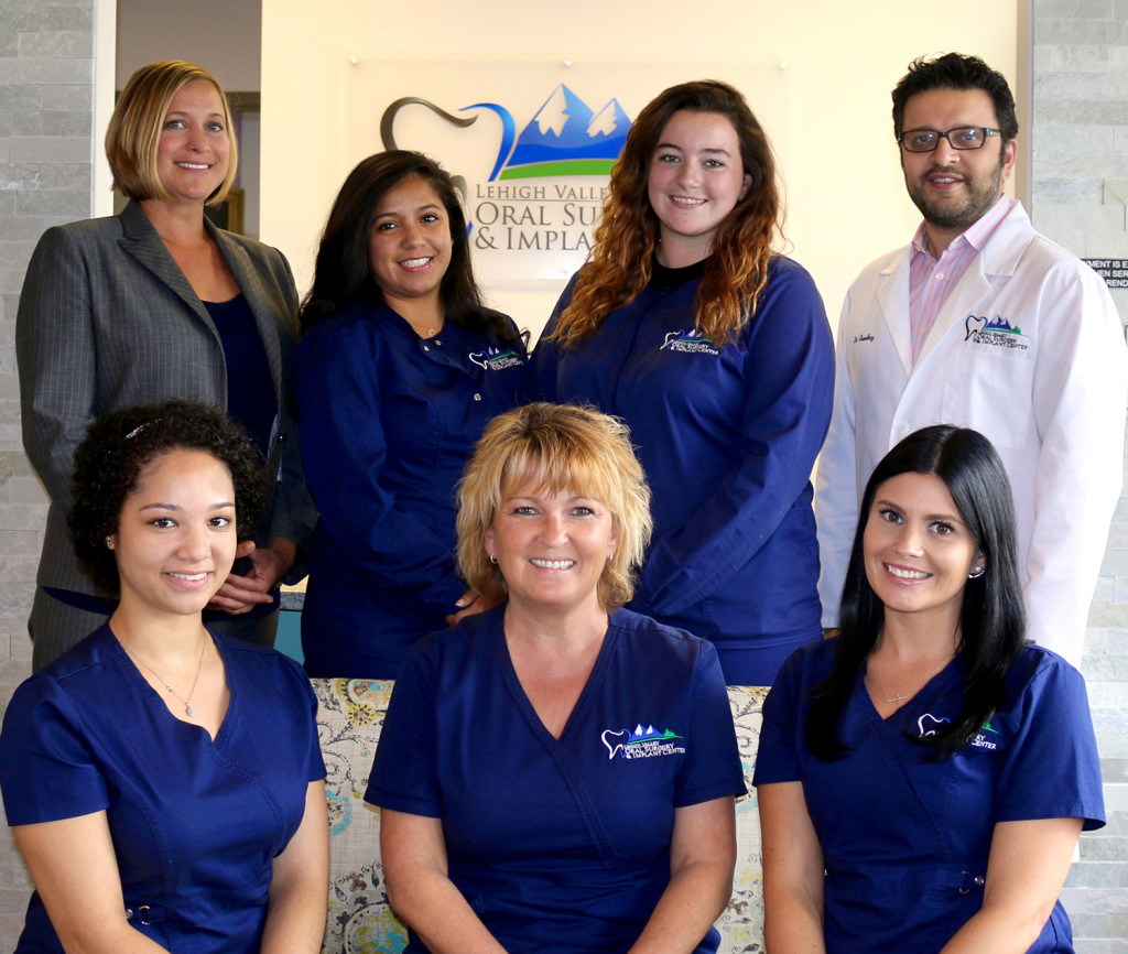 lehigh valley oral surgery team
